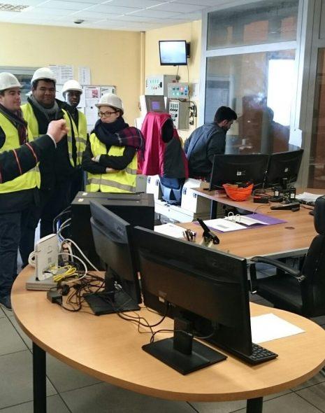 visite usine d'incinération_métiers véolia